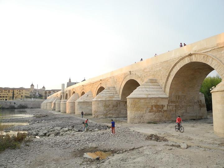 El Guadalquivir se seca al Pasar por Camas
