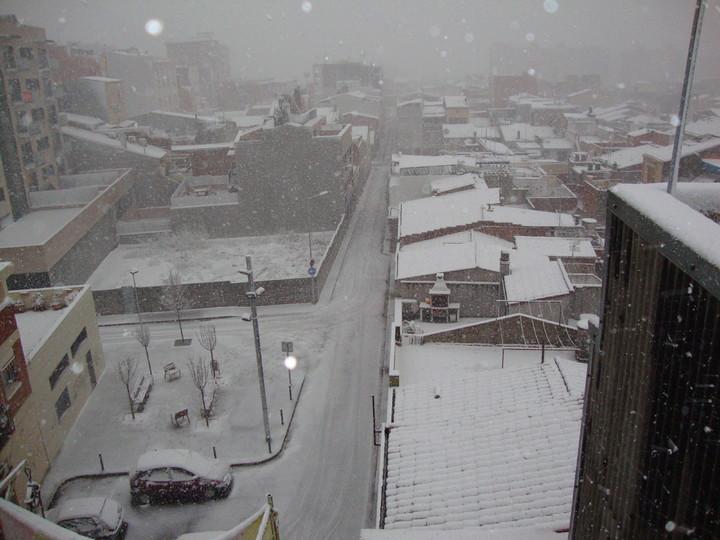 Fotos De Nieve En Sabadell